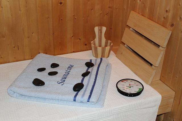 Preparation for sauna